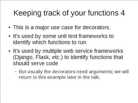 Python Decorators Inception