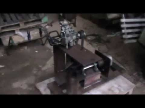 Home made diesel injection pump test bench part 1