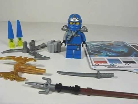 LEGO Ninjago 9553 Jay ZX Booster Pack Quick Review