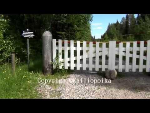 Raatteentie Border zone-Finland and Russia