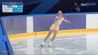 Мария Захарова ПП 04 09 2020 Первенство Москвы 2020 2021