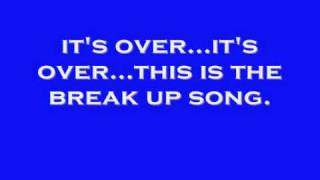The Breakup Song (w/ Lyrics) - Cameron J. FREE Mp3 DWNLD