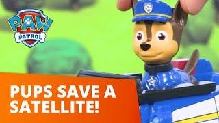 PAW Patrol    Pups Save a Satellite   Toy Episode