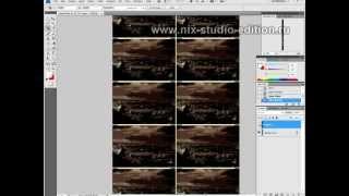 Обработка диафильма в фотошопе
