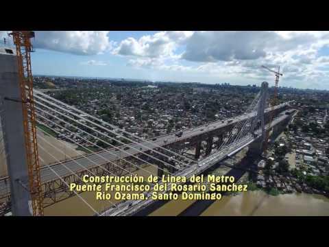 CONSTRUCCION DE LINEA DEL METRO DE SANTO DOMINGO