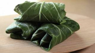 Vegetarian Times Kitchen Tricks: How To Use Leaves As Wraps