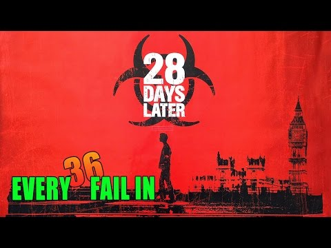 Every Fail In 28 Days Later | Everything Wrong With 28 Days Later, Mistakes and Goofs