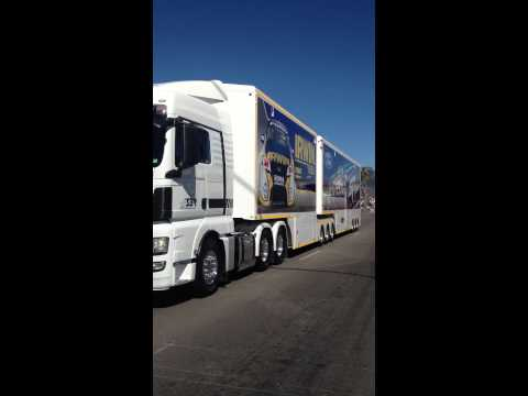 V8 Supercars Transport parade Townsville 2012