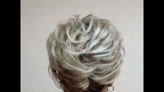 Прическа на короткие волосы https youtu be zaI4NKxSCLA