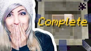 I Beat It!  15 Droppers Part 3  Minecraft With Sabrinabrite