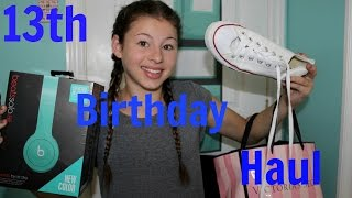 What I got for my 13th Birthday!!