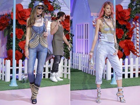 Модные джинсы весна-лето 2017
