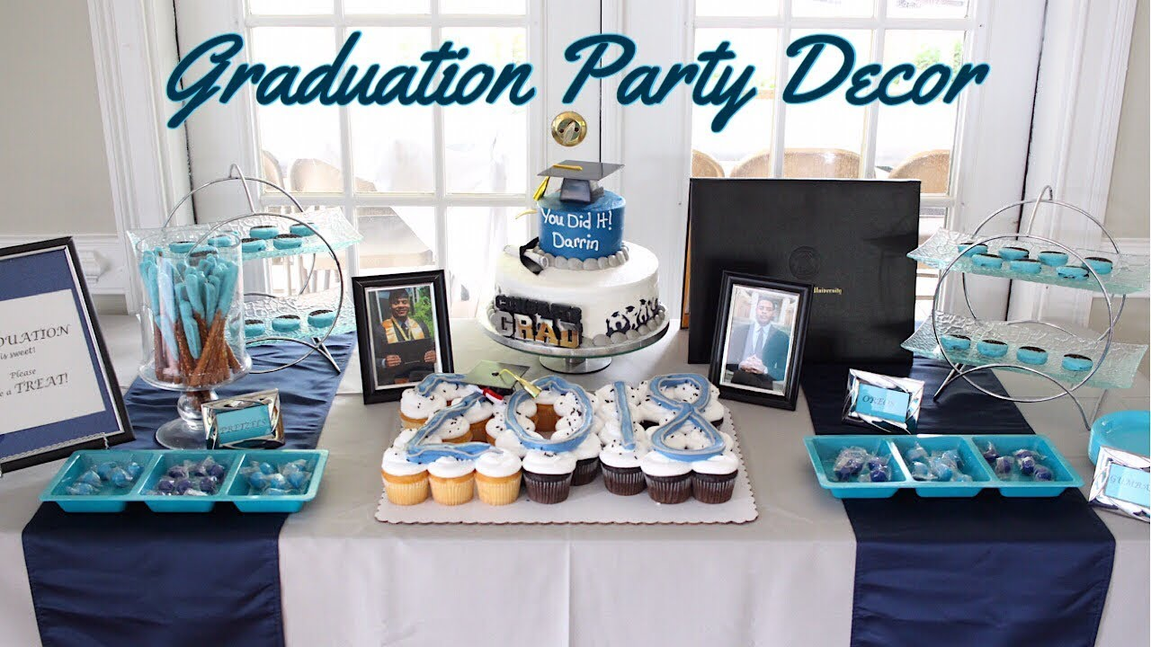 Small High Impact Decor Ideas: Graduation Party Montage - YouTube