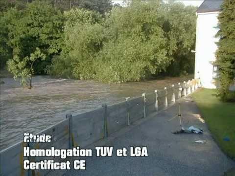 Barrière Anti Inondation Alu Safe HDS
