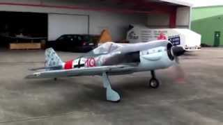 Focke Wulf FW190 (60% Replica) Red 19_1