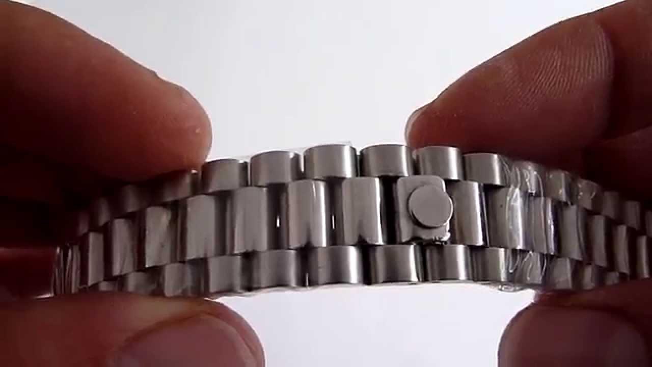 A la venta brazalete tipo presidente de acero inoxida - Reloj adhesivo de pared ...