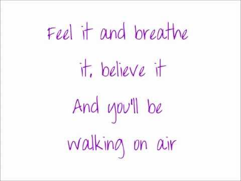 Kerli Koiv - Walking on Air [lyrics on screen]