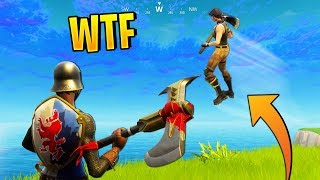 WALKING ON AIR GLITCH | Fortnite Best Stream Moments #41 (Battle Royale)