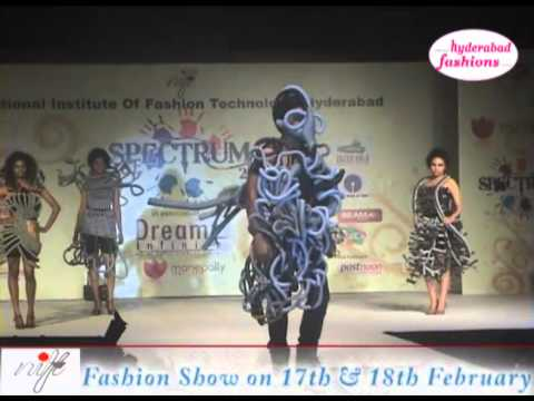 Nift Spectrum 2012 Fashion Show At Hi Tech City In Madhapur Youtube