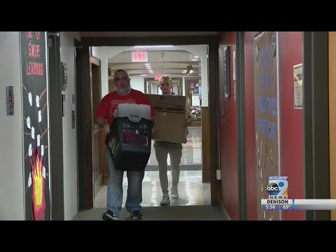 Morningside College students move in