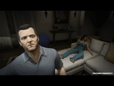 Hang Out With Amanda Grand Theft Auto V Gta  Gameplay