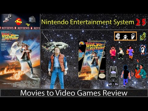 Movies To Video Games Review --  Back to the Future (NES)