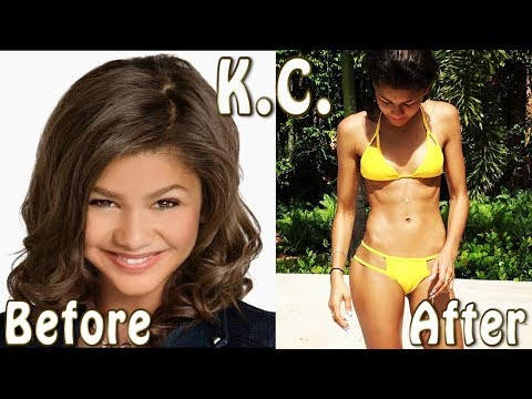 KC Undercover  Zendaya  ★ Before And After