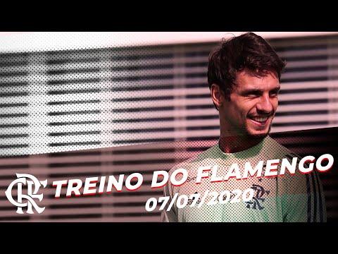 Treino do Flamengo - 07/07/2020