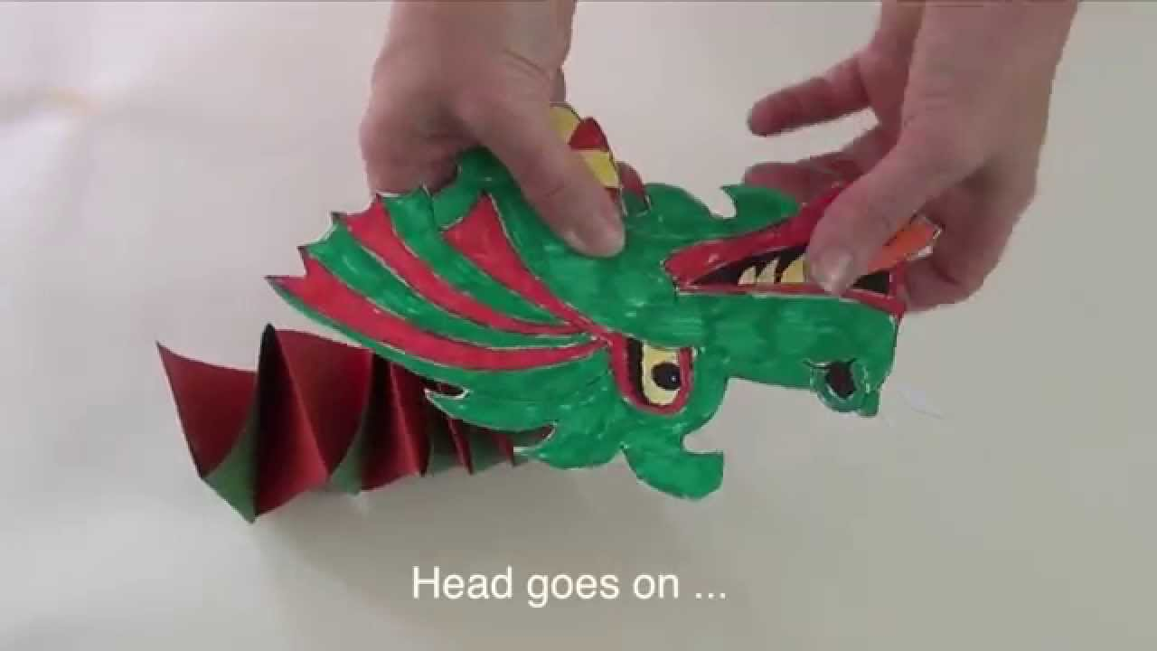 How To Make A Chinese Dragon Youtube