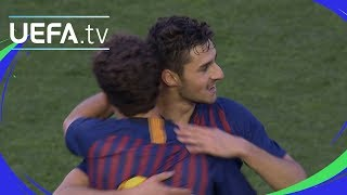 Quarter-final highlights: Barcelona v Lyon