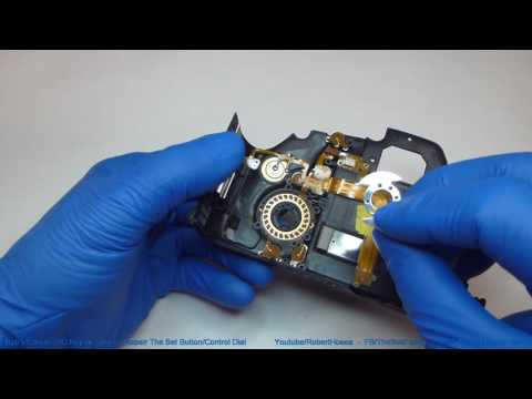 Canon 60D Repair Series - Repairing The Set Button and Control Dial