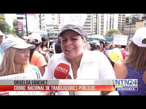 Docentes continuarán el paro a nivel nacional de no recibir respuesta del régimen venezolano