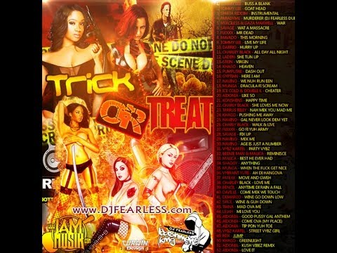 DJ FearLess - Trick Or Treat DanceHall Mixtape