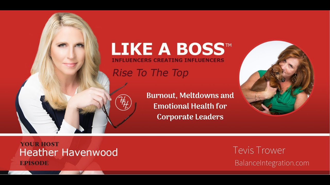Burnout, Meltdowns and Emotional Health for Corporate Leaders with Tevis Trower