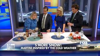 Kim Haasarud's Bacon, Eggs and French Toast Martini on FOX & Friends