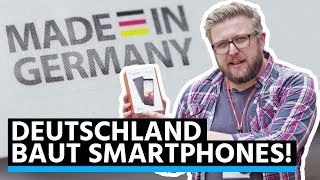 Smartphone Made in Germany: So baut Gigaset das GS185