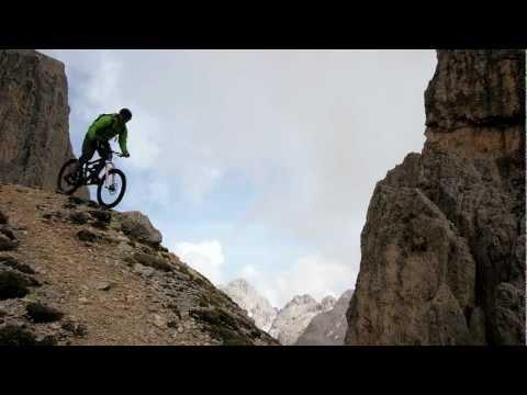 Mountainbike Dolomiten extreme by Colin Stewart mov