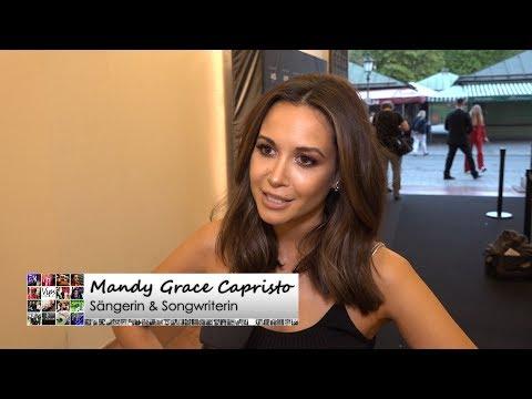 Mandy Grace Capristo - Die Musikerin über ihre große Liebe, Make Up für Männer und mehr...