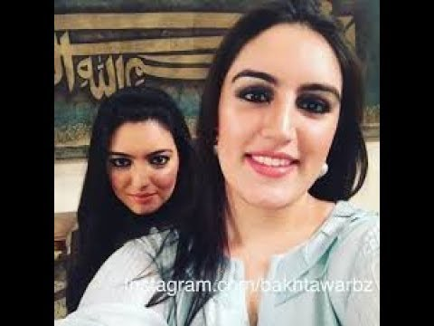 Bakhtawar Bhutto and Asifa Bhutto at Bhutto Mausoleum 27-12-2017