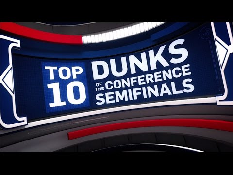 Top 10 Dunks of the Conference Semifinals | 2017 NBA Playoffs