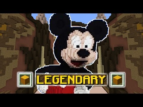 LEGENDARY MICKEY MOUSE (Minecraft Build Battle)