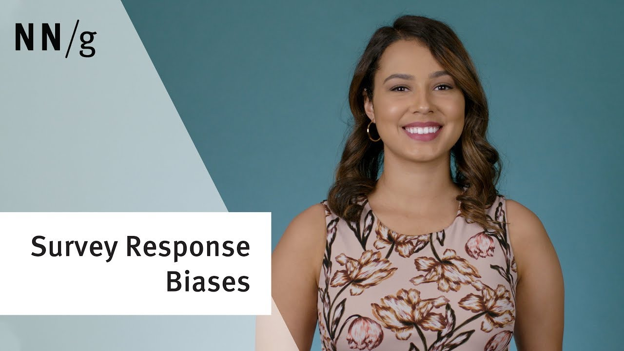Survey Response Biases in User Research