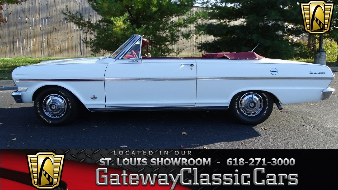 1963 Chevrolet Nova SS Convertible Stock #7098 Gateway Classic ...