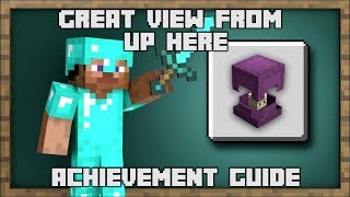 Minecraft - Great View From Up Here Achievement Guide