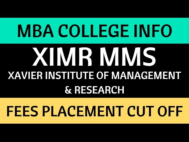 All about Xavier Institute of Management & Research, Mumbai