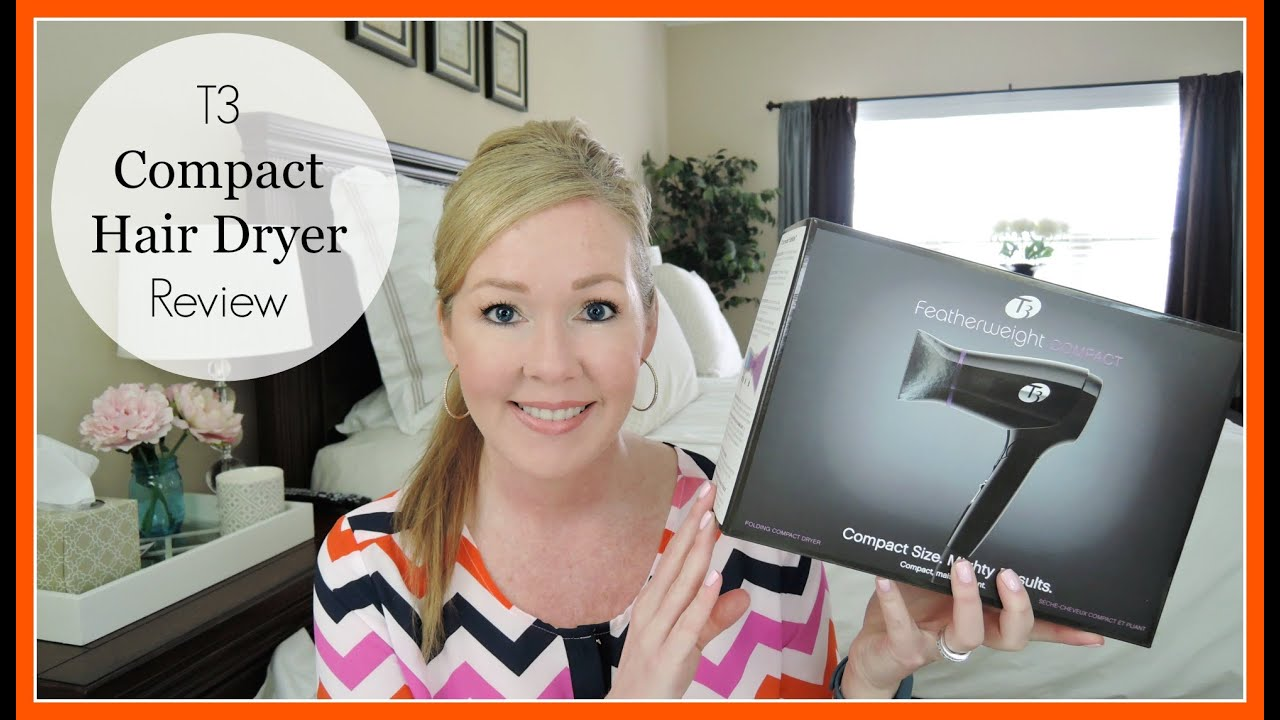 T3 Featherweight Compact Dryer Review YouTube