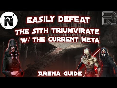 Crush Darth Traya with Palpatine or Vader Lead | Squad Arena Guide | Star Wars: Galaxy of Heroes