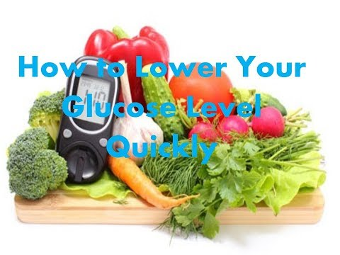 how-to-lower-your-glucose-level-quickly
