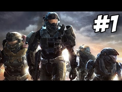 Halo Reach Walkthrough | Noble Actual / Winter Contingency | Part 1 (Xbox 360)