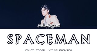 Mew Suppasit - SPACEMAN (Color Coded Lyrics Eng/Ina)